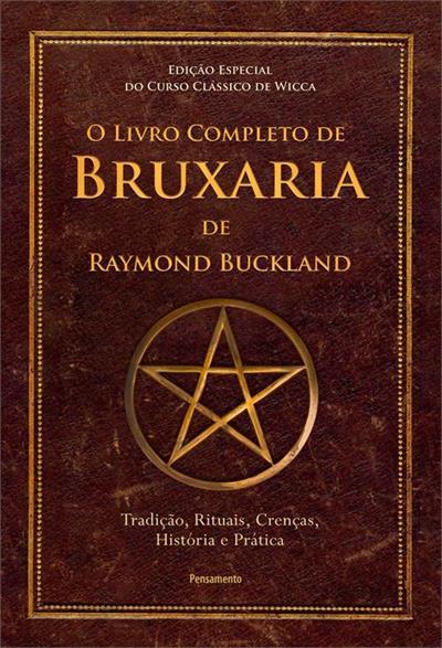 Livro 'O Livro Completo de Bruxaria de Raymon Buckland'